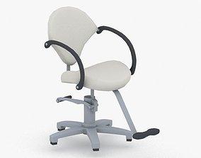 0896 - Hairdresser Chair 3D model VR / AR ready