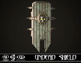 3D asset Undead Shield