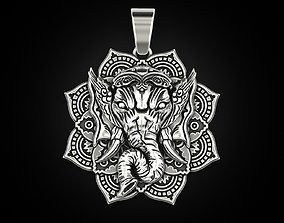3D printable model ganesh Ganesh pendant