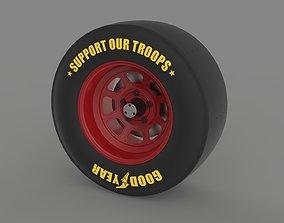 NASCAR wheel 3D model