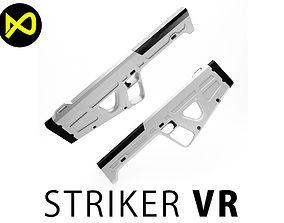 VR Gun Virtual Reality 3D model