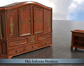 3D model PBR Bedroom Furniture