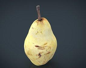 Yellow Pear 3D model