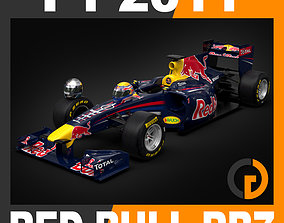 3D model F1 2011 Red Bull Racing RB7