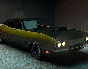 3D model 1970 Dodge Challanger