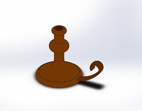 Candlestick 3D printing solidworks part