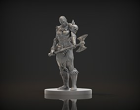 3D print model Barbarian Male Character