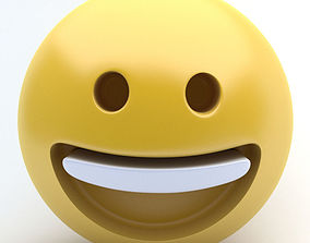 EMOJI Happy 3D model