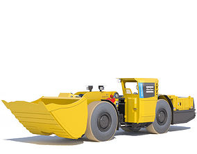 3D model Atlas Copco underground loader Scooptram ST7 2