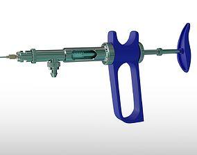 Poultry Vaccine Syringe 3D model
