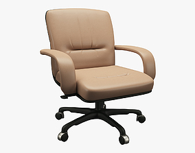Office Chair 001 3D asset