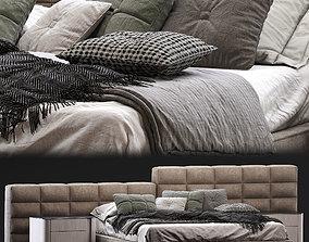 Minotti - Lawrence Bed 3D model