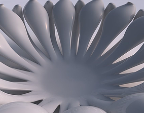 3D printable model Bowl two layered flower