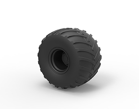 3D print model Diecast Wheel from Big Foot