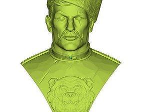 3D print model Bust of Cossack