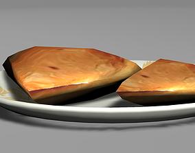 Chicken Samosa 3D asset VR / AR ready