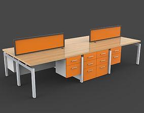 3D model Workstation 2