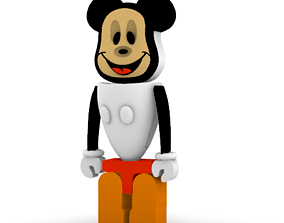 3D Robotic Mickey Mouse