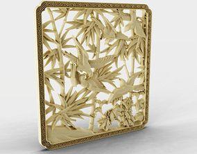 3D print model Reedbirds Wall Decoration