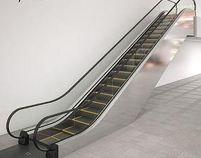 3D Escalator Kone TravelMaster 110 modular