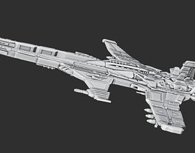 3D printable model Spaceship A