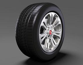 Fiat Talento Van wheel 2016 3D