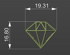 Diamond joia 3D model