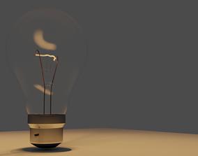 Lightbulb 3D lighting