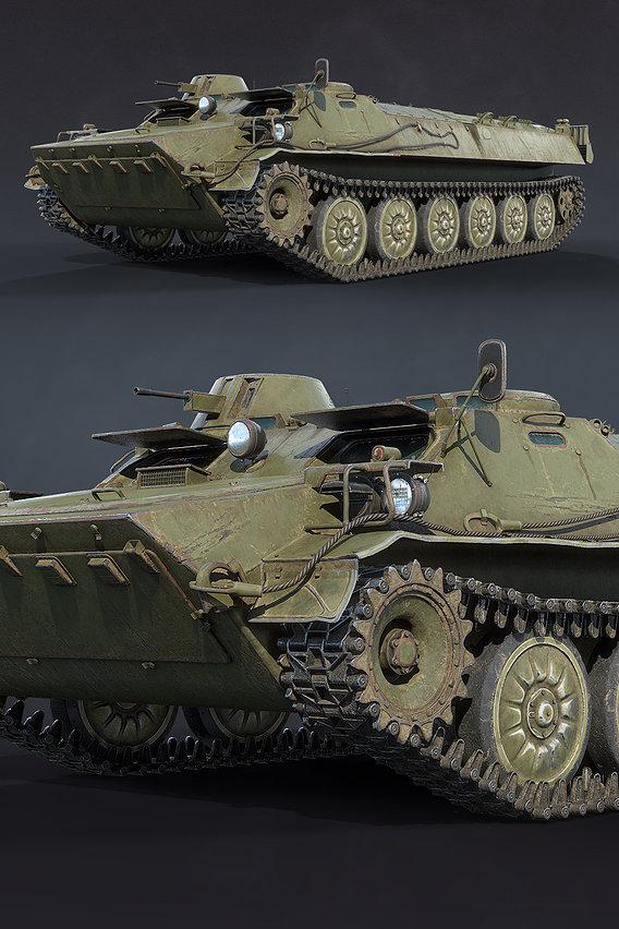 MT-LB Military Vehicle