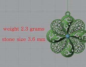 3D print model Ultra Lighter Heart Pendant 4 Jewelry