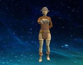 Chica RPG 3D model
