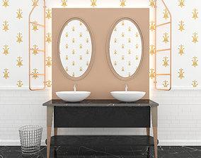 Sink Scavolini washbasin 3D model