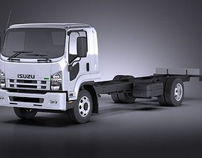 3D model ISUZU F series 2017 VRAY