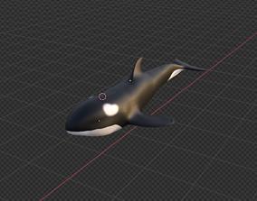 animals killer whale 3D model
