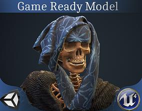 Sceleton Mage 3D asset
