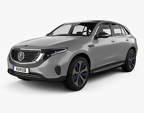 3D Mercedes-Benz EQC 400 2018