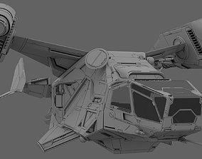 weapon Space Ship 3D