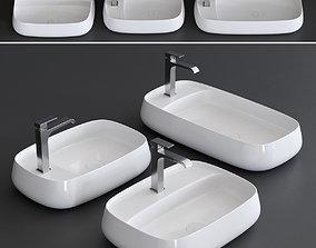 3D model Alice Ceramica Nur Plan Washbasin