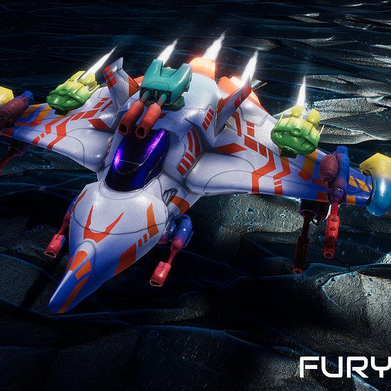 FuryStar Mk2 Fighter