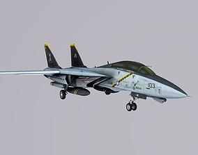 Grumman F-14 Tomcat 3D model VR / AR ready