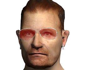 3D asset Bono from U2