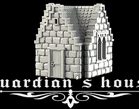 3D printable model Guardian house