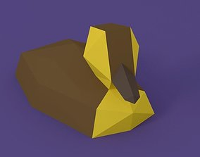 3D model Low Poly Duckling