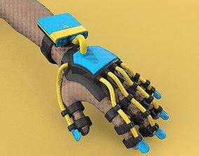 SMART GLOVE EXOSKELETON HAND ROBOT 3D model