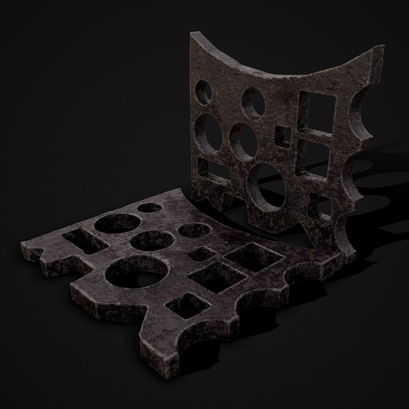 Swage Block blacksmith prop