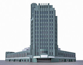Pellissier Building and Wiltern Theatre 3D model