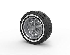 3D print model Diecast Sport wheel 9