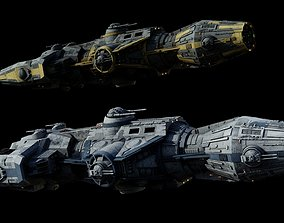 3D Corellian Gunship DP20