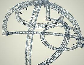 3D Metallic structure truss 01
