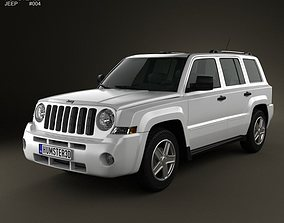 3D model Jeep Patriot 2011